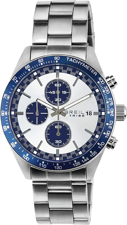 Reloj BREIL por Hombre Fast con Correa de Acero, Movimiento Chrono Cuarzo