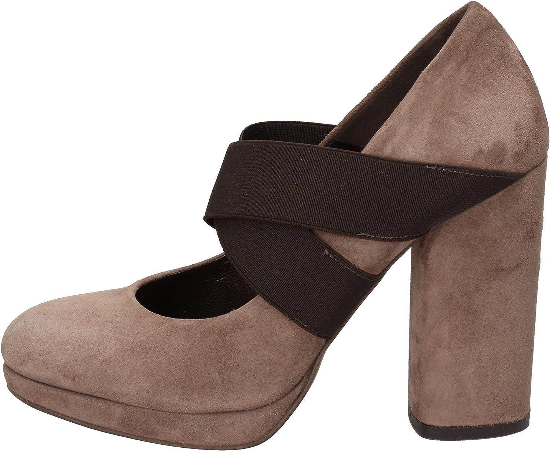 SILVIA ROSSINI Pumps-shoes Womens Suede Beige
