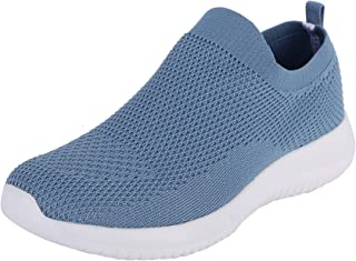 Fsports Latest Collection Ocean Blue Colour Garnet Series Lycra Mesh Casual Shoes for Women
