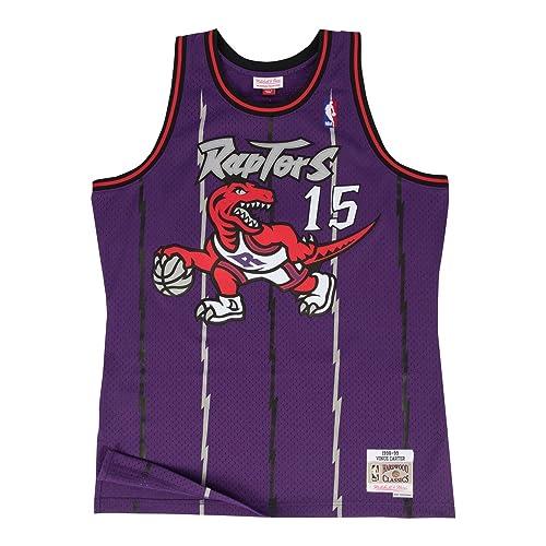 4dc47843f198 Mitchell   Ness Vince Carter Toronto Raptors Purple Throwback Swingman  Jersey