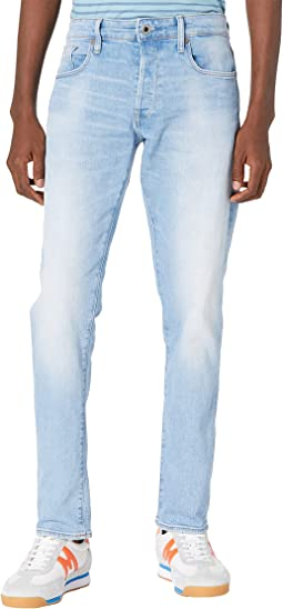 3301 Slim Jeans in Sun Faded Crystal Blue