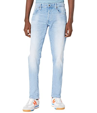 G-Star 3301 Slim Jeans in Sun Faded Crystal Blue