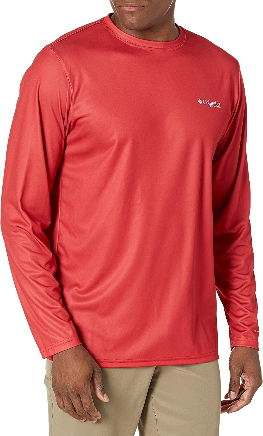Columbia Men's OFFicial mail Free Shipping New order Terminal Tackle PFG Patriot Long Sleeve