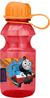 Zak Designs Thomas and Friends 14 oz. Water Bottle with Flip Straw, Thomas the Tank Engine
