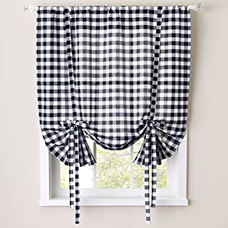 Sweet Home Collection Kitchen Window Curtain Treatment Panel 63