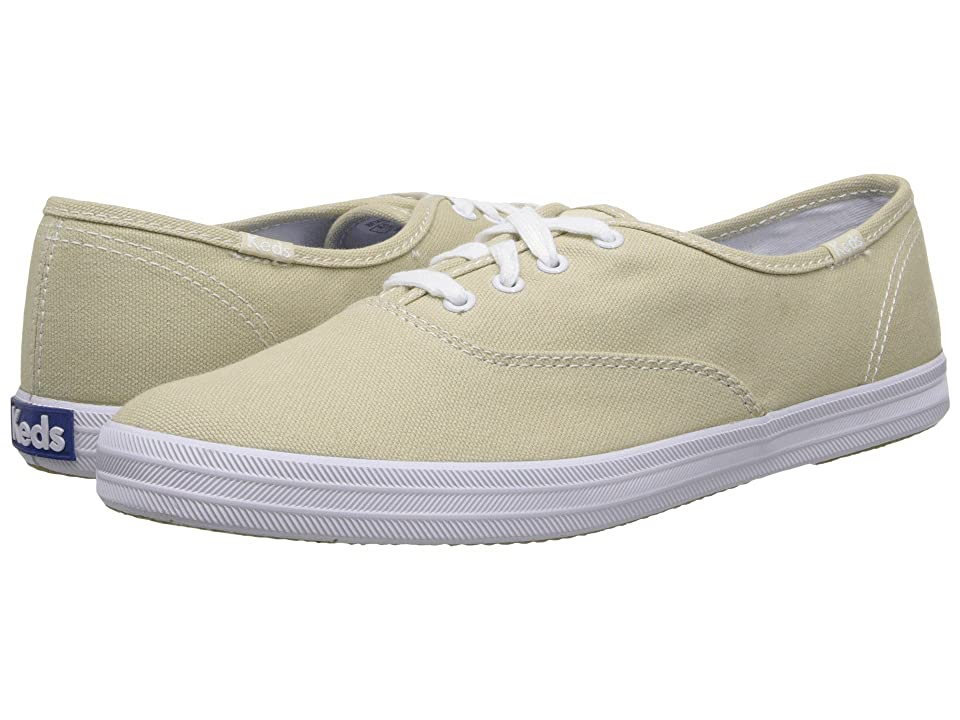 9e1f56ff1d3 ... UPC 044209486999 product image for Keds Champion-Canvas CVO (Stone  Canvas) Women s Lace