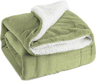 Amazon.com: Green - Throws / Blankets & Throws: Home & Kitchen