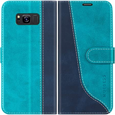 Cadorabo Hülle Für Samsung Galaxy S8 In Floral Blau Elektronik