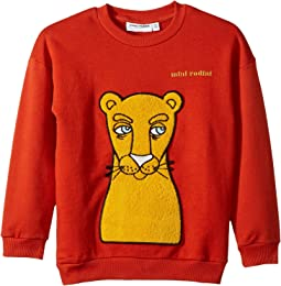 Cat Patch Sweatshirt (Infant/Toddler/Little Kids/Big Kids)