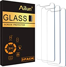 Ailun Glass Screen Protector Compatible for iPhone 12/iPhone 12 Pro 2020 6.1 Inch 3 Pack Tempered Glass 2.5D Edge Anti Scratch Work Most Case