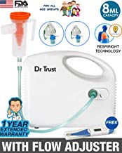 Dr Trust USA Bestest Compressor Nebulizer Machine for Kids and Adults (White)