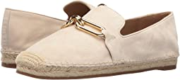 Cream Kid Suede/Jute