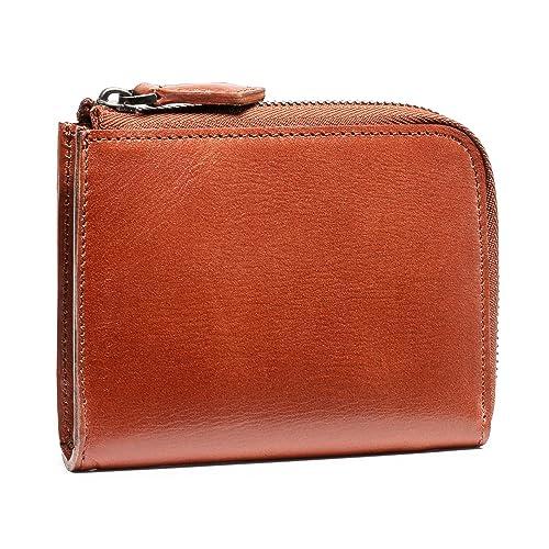 bd6f768bc04446 (ポヨリー) POYOLEE 財布 メンズ L字ファスナー 本革 小銭入れ 小型財布 コンパクト
