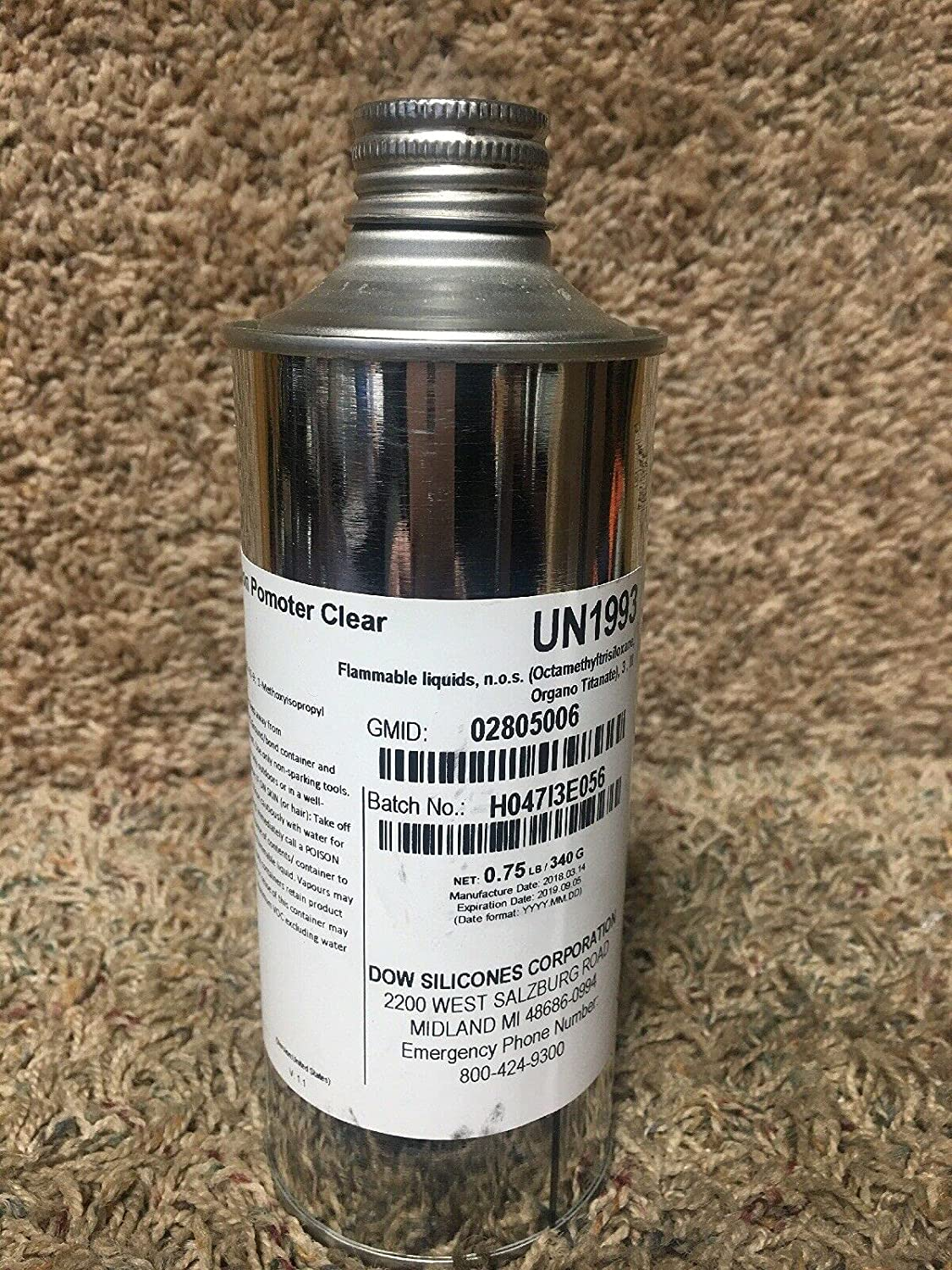1 Free shipping anywhere in the nation Pc of 2805006 Clear Adhesion 0.75 Can. lb. Promoter 5 popular 53DC94