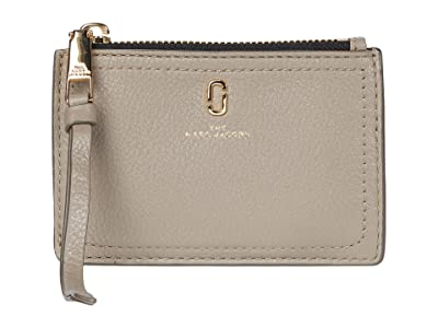 Marc Jacobs Top Zip Multi Wallet (Cement) Wallet Handbags