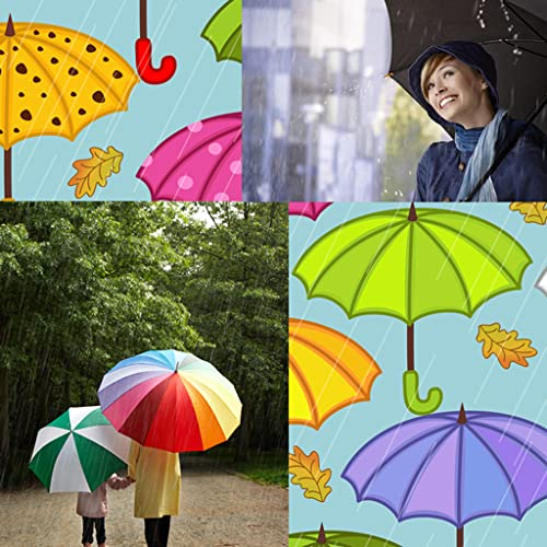 Regenschirm-Foto-Collage