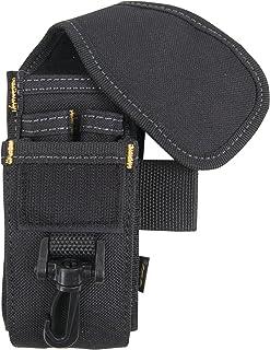 CLC Custom LeatherCraft 1105 Cell Phone/Tool Holder, 5 Pocket,Black
