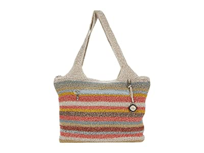 The Sak Casual Classics Large Tote (Horizon Stripe) Tote Handbags