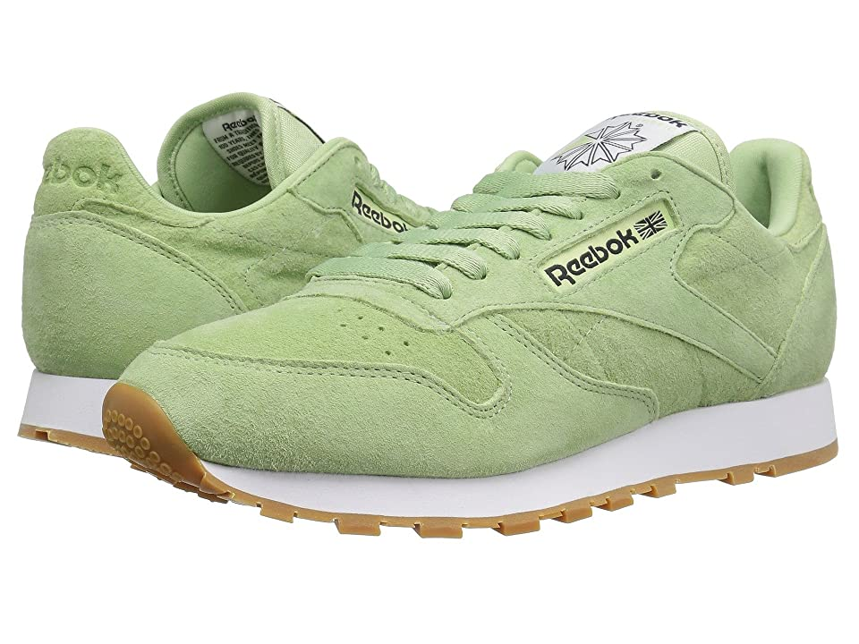 Reebok Classic Leather Pastels (Aloe Green/Classic White/Coal) Men