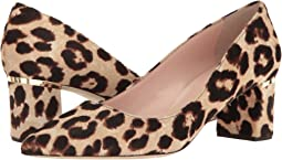 Blush/Brown Leopard Haircalf Print