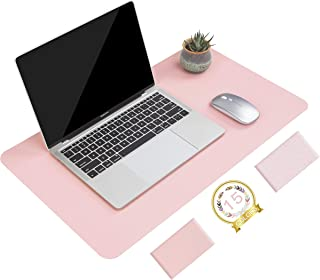 Non-Slip Desk Pad, Waterproof PVC Leather Desk Table Protector, Ultra Thin Large Mouse Pad, Easy Clean Laptop Desk Writing...