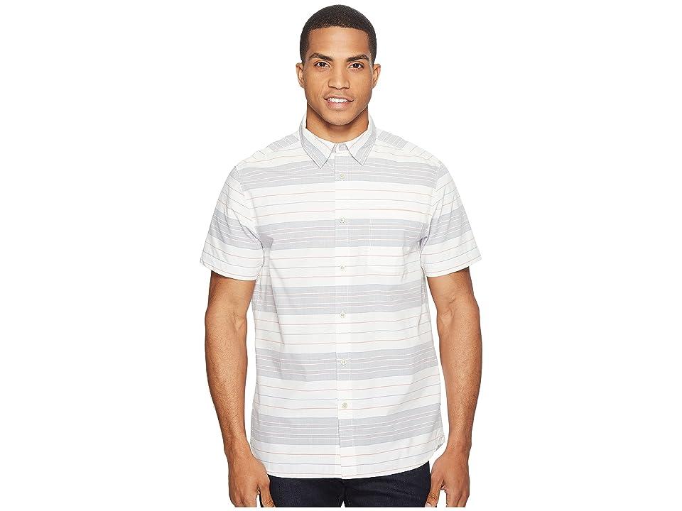 The North Face Chambray Pursuit Shirt (Vintage White Stripe (Prior Season)) Men