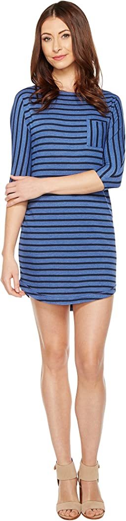 Skipper Eco-Jersey Yarn Dye Stripe Dress