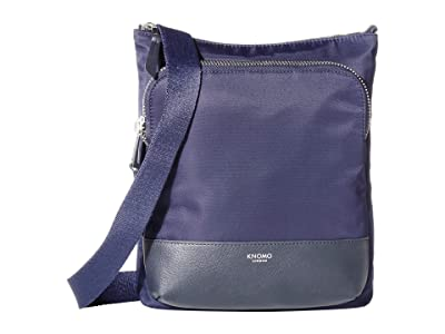 KNOMO London Mayfair Carrington Crossbody (Dark Navy) Cross Body Handbags