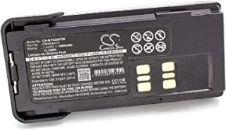 vhbw Li-Ion batería 1800mAh 7.4V con Pinza para el cinturón para Radio, walkie-Talkie Motorola DP-2400, DP-2600, DP2400, D...