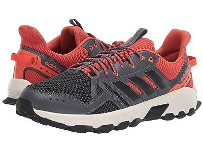 adidas Running Rockadia Trail (Grey Six/Black/Raw Amber) Men