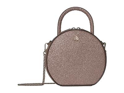Kate Spade New York Andi Glitter Mini Canteen Bag (Pink Champagne) Bags