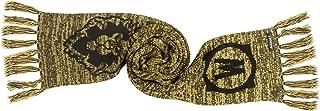 World of Warcraft Alliance Fringed Knit Scarf, Black/Gold, 60