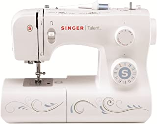 SINGER | Talent 3323 Portable Sewing Machine including 23 Built-In Stitches, Automatic Needle Threader, Top Drop-in Bobbin and Bonus Fashion Accessories