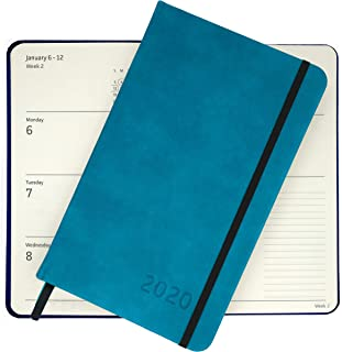 2020 Planner – Yearly, Weekly, Monthly & Daily Planner Organizer with Calendar (Emerald)   Plan Your Life, Keep Appointments, Improve Productivity & Achieve Your Goals