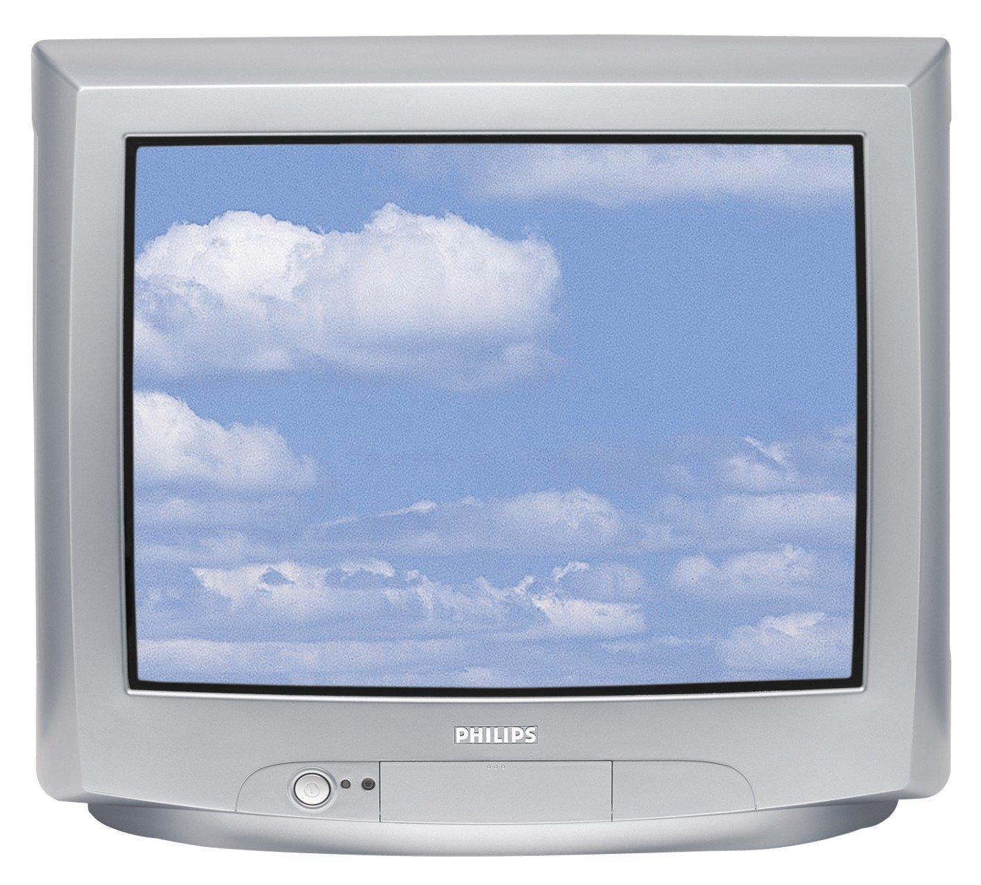 Philips 21 PT 1666 53,3 cm (21 Pulgadas) 4: 3 televisor Plata: Amazon.es: Electrónica