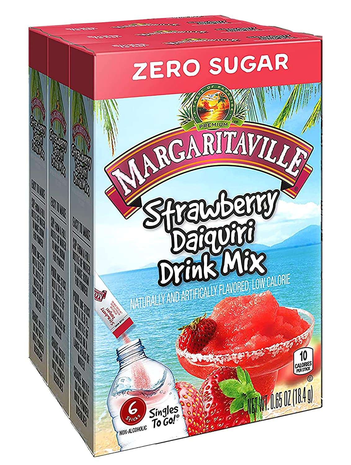 Margaritaville Strawberry Daiquiri Singles To Mix CT Go Be Tucson Mall super welcome 6 Drink