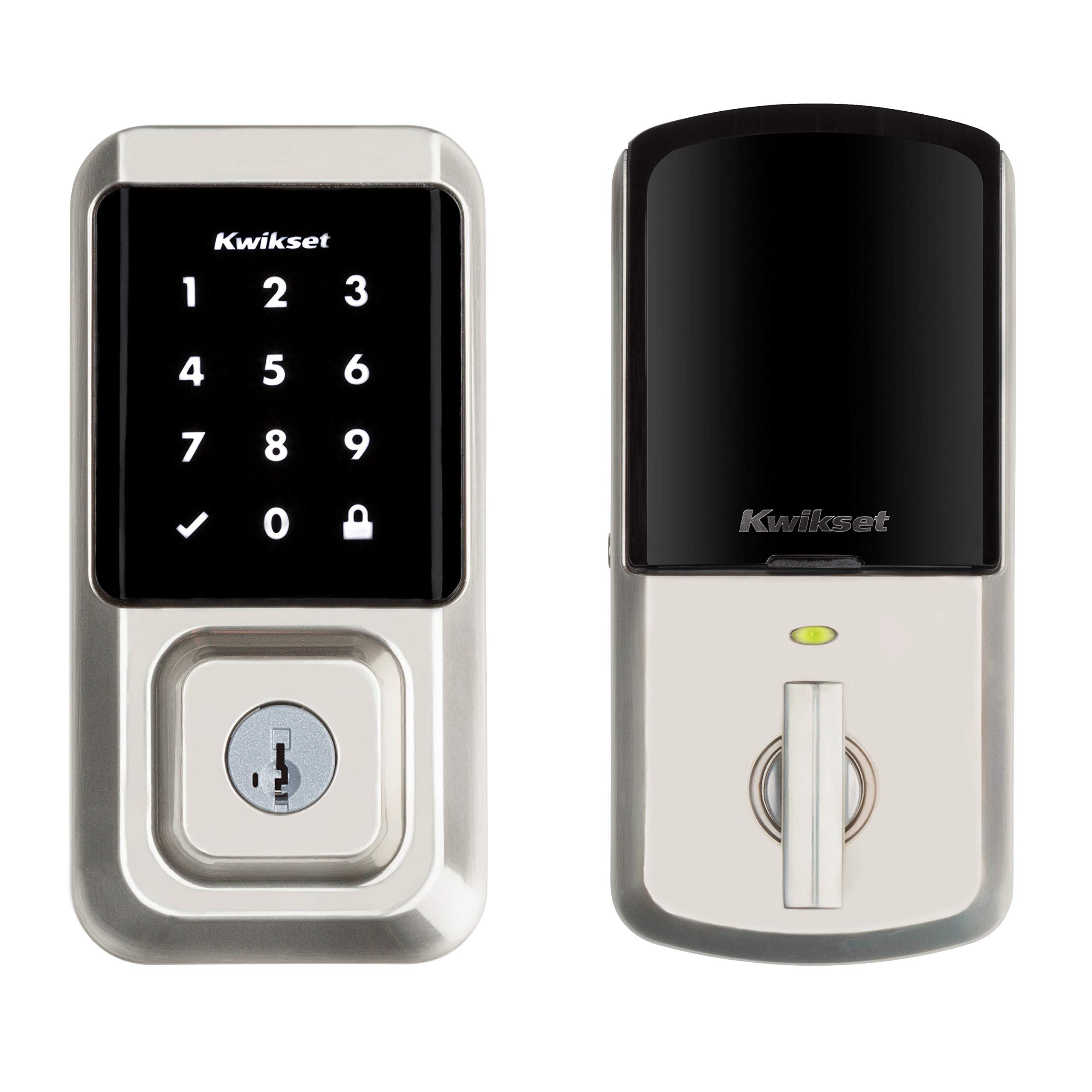 Kwikset 99390 001 Electronic Touchscreen Featuring