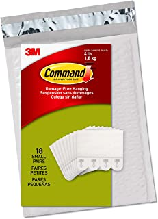 Command PH202-18NA Value Pack Picture Hanging Strips, Small, White