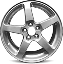 Road Ready Car Wheel For 2005-2009 Pontiac G6 17 Inch 5 Lug Silver Aluminum Rim Fits R17 Tire - Exact OEM Replacement - Full-Size Spare