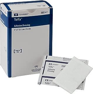 Covidien 6017 Telfa Adhesive Dressing, Sterile 1's in Peel-Back Package, 2
