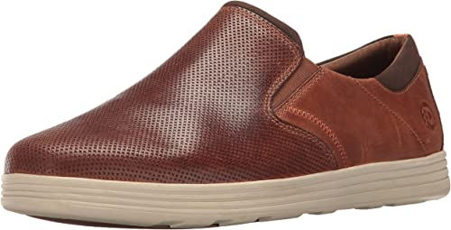 Dunham Men's Colchester Slipon Fashion baskets, marron, 9.5 4E US