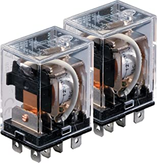 0.81 L x 0.40 W x 0.45 H Double Pole Double Throw 288 Ohm 2A Omron Electronics Omron G5V-2-DC12 Electromechanical Relay Pack of 2 Through Hole 12V 0.81 L x 0.40 W x 0.45 H Pack of 2