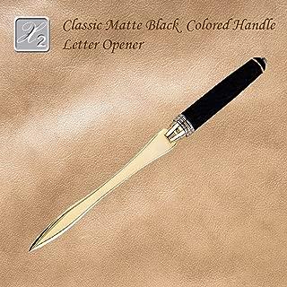 Classy Luxury Matte Black Letter Opener