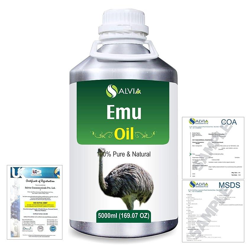 間に合わせコードレス国籍Emu 100% Natural Pure Oil 5000ml/169fl.oz.