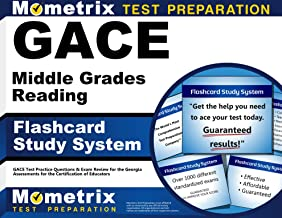 GACE Middle Grades Reading Flashcard Study System: GACE Test Practice Questions & Exam Review for the Georgia Assessments for the Certification of Educators (Cards)