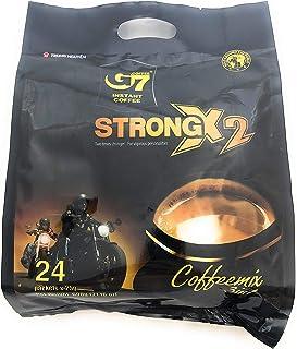 Trung Nguyen G7 3-in-1 Strong X2 Instant Premium Vietnamese Coffee, Coffeemix 24 Sachets x 25g (600g)