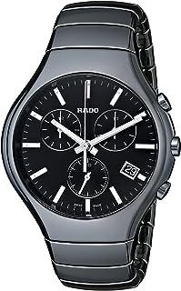 ساعة رادو ترو صناعة سويسرية سيراميك اسودR27814162