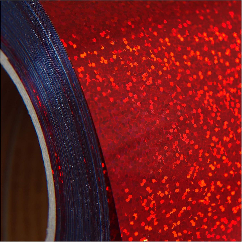 Max 80% OFF Threadart Holographic Red Heat 2021 model Transfer Vinyl Film 20