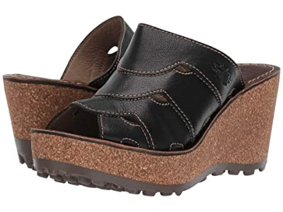 FLY LONDON GAXI417FLY (Black Mousse) Women