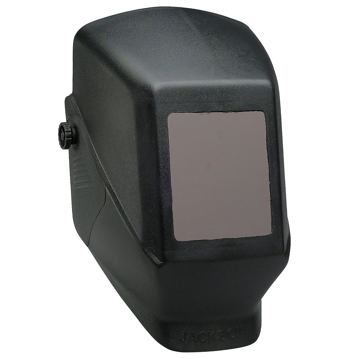 囲い階段菊Jackson Safety Fixed Shade W10 HSL 100 Welding Helmet (15134), Black, 10 Units / Case by Jackson Safety